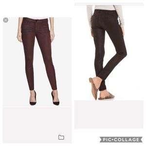 NWT William Rast Faux Suede skinny Pants